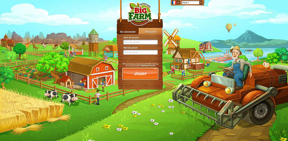 Login Big Farm